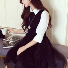 Ms Miao, Spring New style, gauze dress  [Brand: Ms Miao]