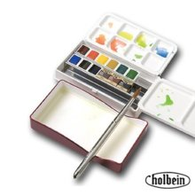 Holbein artists Pan color 12 color set (Palm box)