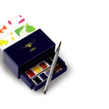 Holbein Pan color solid water colors 8 color trick box set PN689