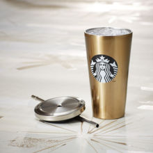 Stainless Steel Cold Cup - Gold
