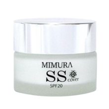 MIMURA SS COVER Cream Foundation Primer 20g - Made in Japan