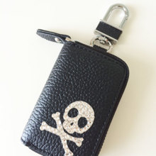 Intelligence key case skull