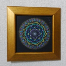 Mandala original with frame