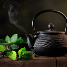 Japanese herbal tea experience