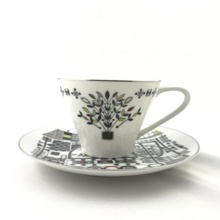 【Antique】 Noritake coffee cup
