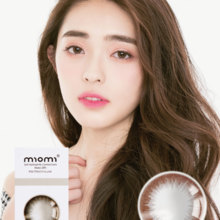 MIOMI Momi rice caramel color contact lenses