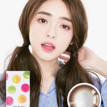 MIOMI black colored contact lenses
