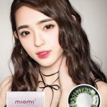 MIOMI Momi Light Flash Green Color Contact Lenses