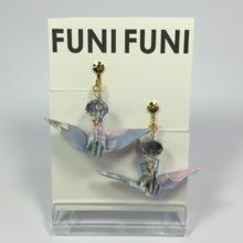 折り鶴のイヤリング②