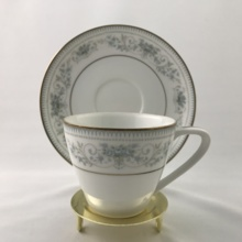 【Antique】 Noritake coffee cup & saucer Patt. 2600
