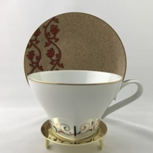 【Antique】 Noritake Coffee Cup & Saucer 1970's