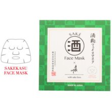 Tetori river facial mask (sake cake face mask)