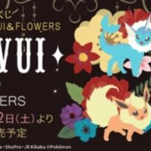Ichibankuji Pokémon EIEVUI & FLOWERS (70 pieces + sales promotion including last one prize and lottery)
