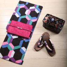 【Test】 Kimono 3-piece set