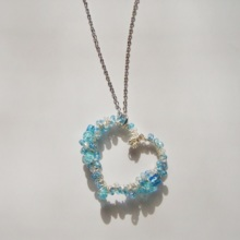True Blue  Long necklace  *free shipping*
