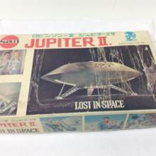 Space Family Robinson Jupiter 2 No Spiral Famous Unassembled Out of Print Plastic Retro