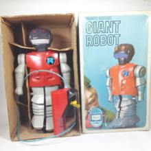 Giant Robot 1960's Bandai Remote Control Vintage for Export Plastic Made