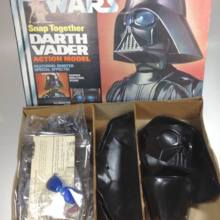 Star Wars Darth Vader mpc 1978 Yearning Lighting Busted Plastic model Rarities Vintage