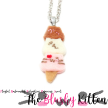 The Blushy Kitten Felt Name Necklace {CUSTOM ORDER}