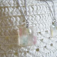 Yazakuri / Freshwater pearl necklace (free shipping)