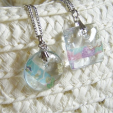 The sunny ocean necklace (free shipping)