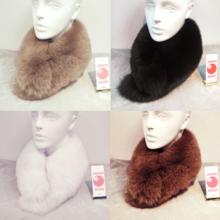 Saga Fox fur muffler stall M size