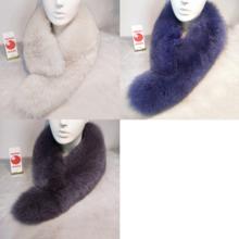 Saga Fox fur muffler stall L size