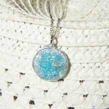Silver Sand Necklace (free shipping)