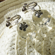 Flowers on the Beach Earrings (free shipping)