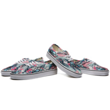 WANSI new tide brand low canvas painted skateboard men and women shoes WS187