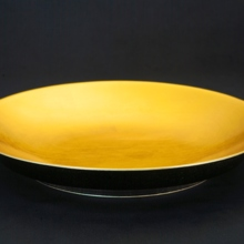 The finest hospitality RIN series golden large plate 36 cm (L) -