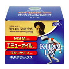 Noguchi Medical Research JAPAN glucosamine Kida DX pack value 200g