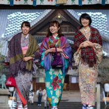 Kimono rental [Easy day return plan] in Kanazawa
