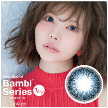 ANGELCOLOR Bambi Series Vintage 1 day VintageBlue 30 sheets Color Contact Lens