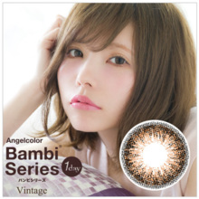 Angel Color Bambi Series Vintage One Day Vintage Brown 30 seets  Color Contact Lens