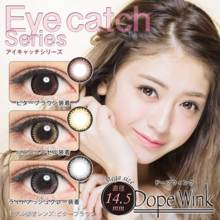 Dope wink Eye catch series 1 month 1 sheets color contact lens
