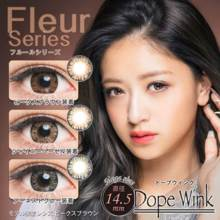 Dope Wink Fleur series no degree 1 month 2 sheets Color contact lens