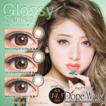 Dope Wink Glossy series no degree 1 month 2 sheets Color contact lens