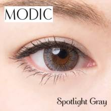 Angel color MODIC series Spotlight gray1 month No degree 2 sheets