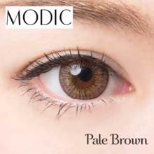 Angel color MODIC series Pale brown 1 month No degree 2 sheet Color contact lens
