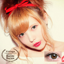 Angelcolor BAMBI series Vintage olive 1 month No degree 2 sheets Color contact lens