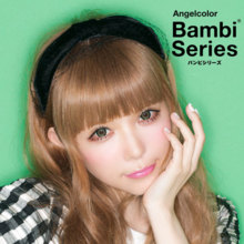 Angelcolor Bambi series Green apple 1 month 1 sheets Color contact lens