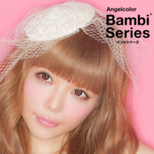 Angelcolor Bambi series chocolate 1 month 1 sheet Color contact lens