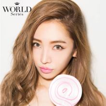 Angelcolor World series World brown 1 month 1 sheet Color contact lens