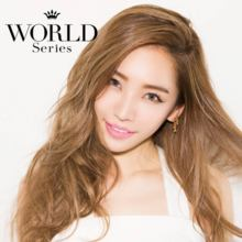 Angelcolor World series World brown No degree 1 month 2 sheets Color contact lens