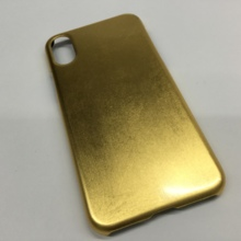 "iPhone X cover ""Gold specification"""