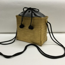 "The finest ""Special Bamboo Bag"" gold gray"