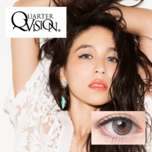 Angelcolor QuarterVision series No degree 1 month Virgin Quarter 2 sheet Color contact lens