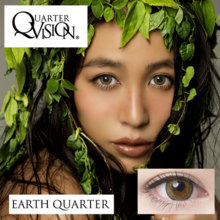 Angelcolor QuarterVision  EarthQuarter 1 month 1 sheet Color contact lens
