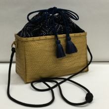 "The finest ""Special Bamboo Bag"" Sushiko weave BK"